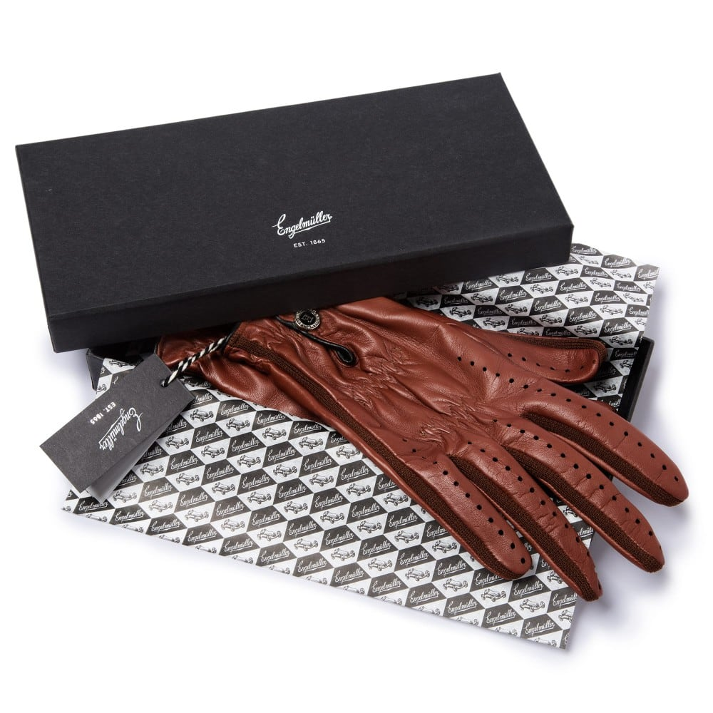 Leather driving gloves bmw - Jim Clark Leather Driving Gloves J C 63
