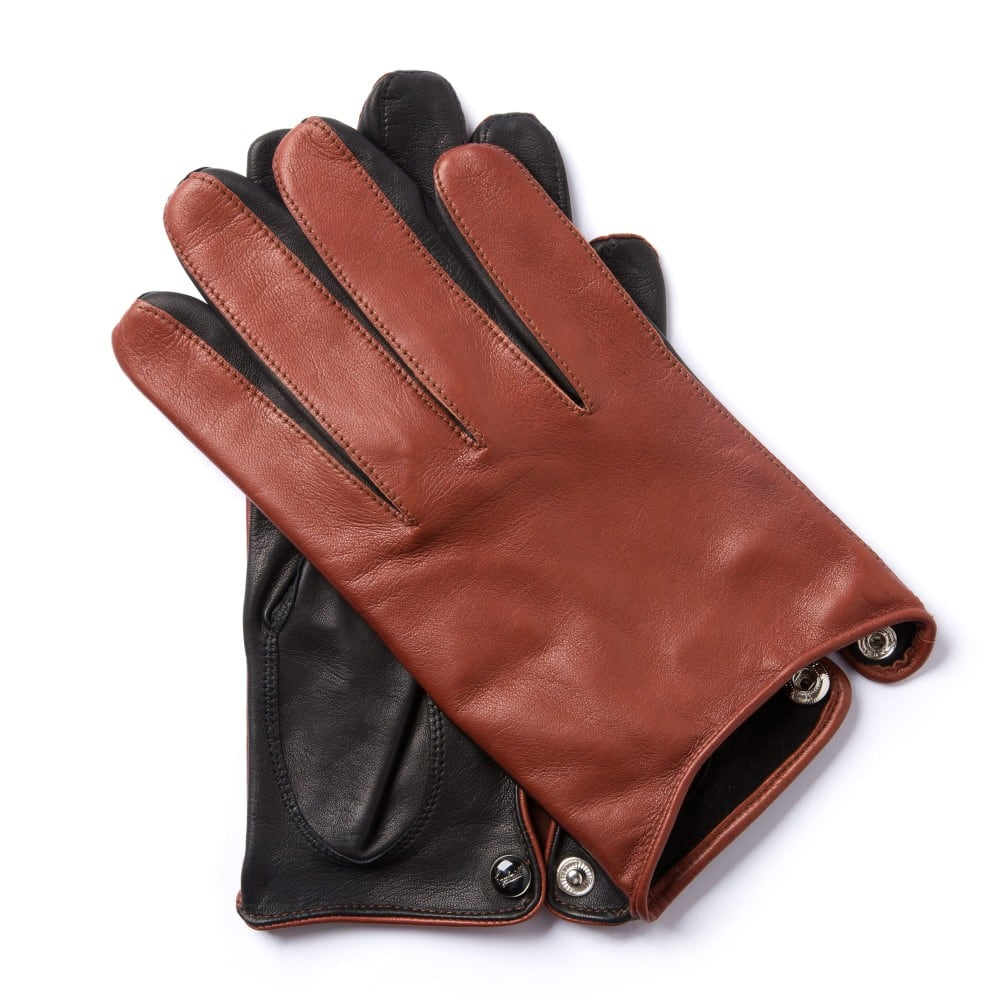 Leather driving gloves - Image1